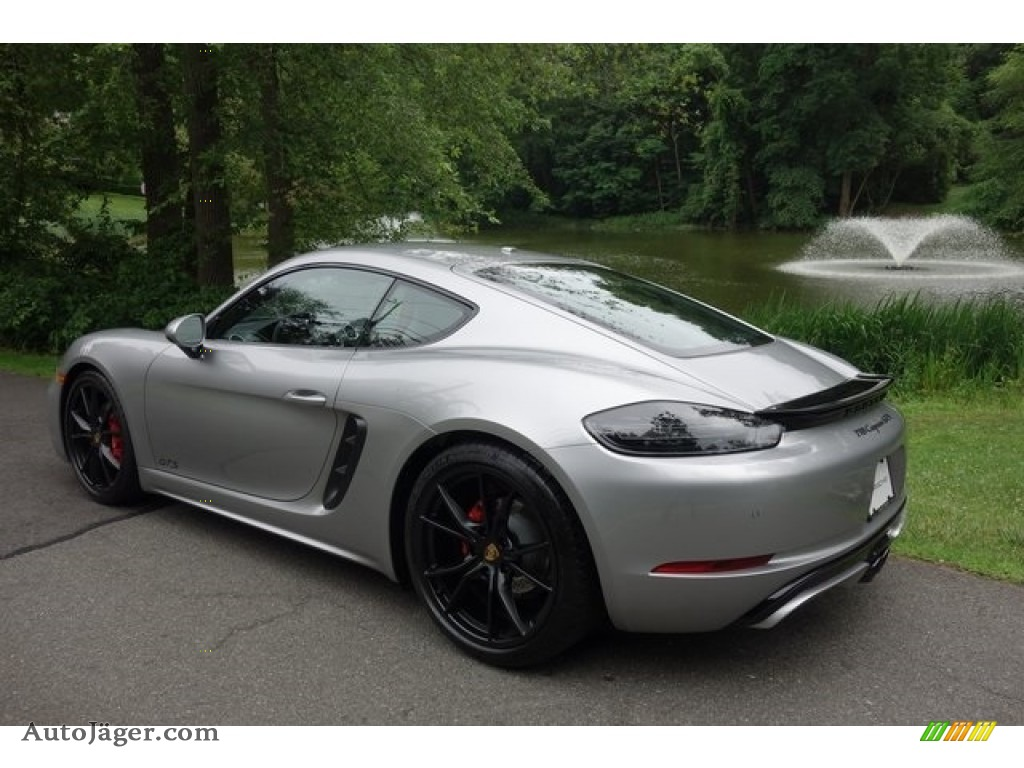 2018 718 Cayman GTS - GT Silver Metallic / Black/Bordeaux Red photo #6