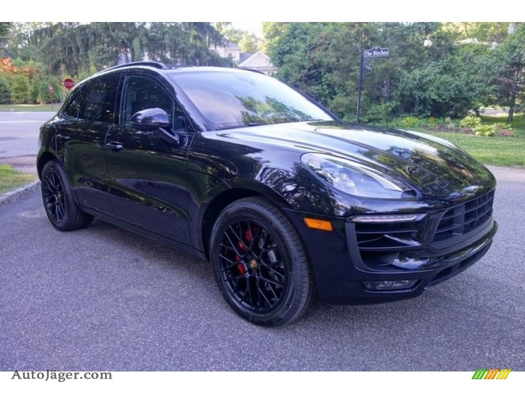 2018 Macan GTS - Black / Black photo #1