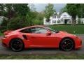 Porsche 911 Turbo Coupe Lava Orange photo #8
