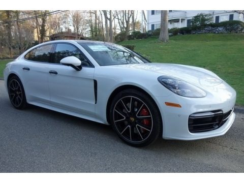 White 2018 Porsche Panamera Turbo