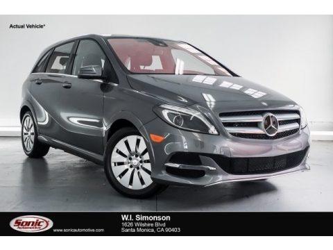 Mountain Grey Metallic 2015 Mercedes-Benz B Electric Drive
