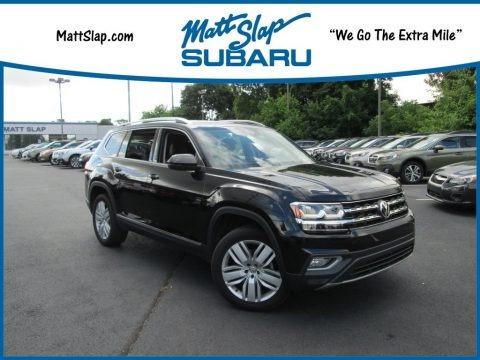 Deep Black Pearl 2018 Volkswagen Atlas SEL Premium 4Motion