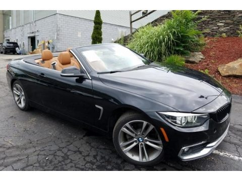 Black Sapphire Metallic 2018 BMW 4 Series 430i xDrive Convertible