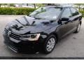 Volkswagen Jetta S Black photo #4