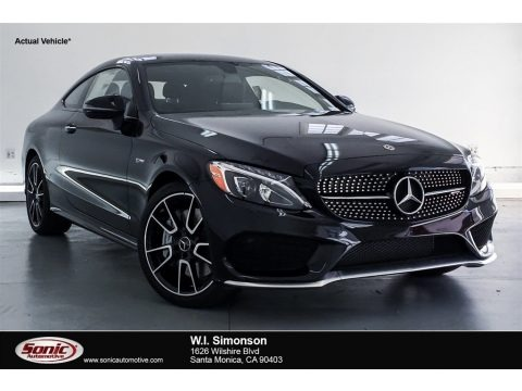 Black 2018 Mercedes-Benz C 43 AMG 4Matic Coupe