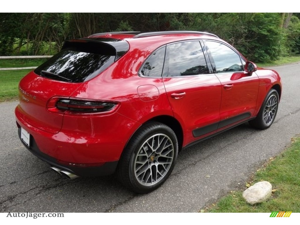 2018 Macan S - Carmine Red / Black photo #4
