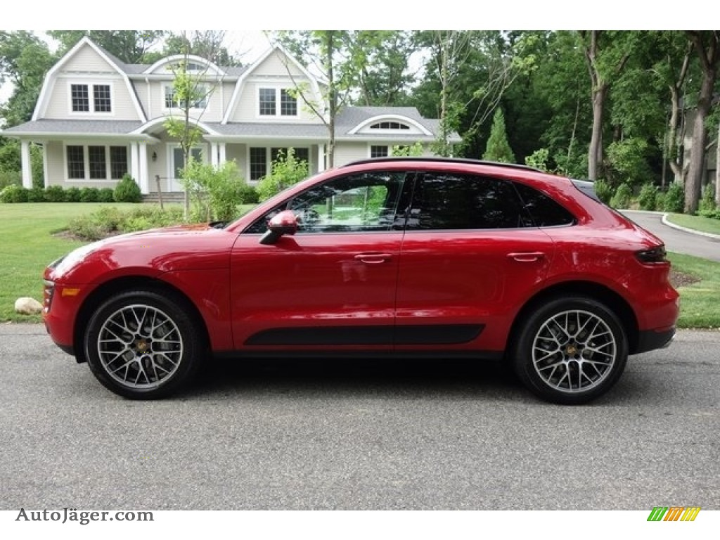 2018 Macan S - Carmine Red / Black photo #7