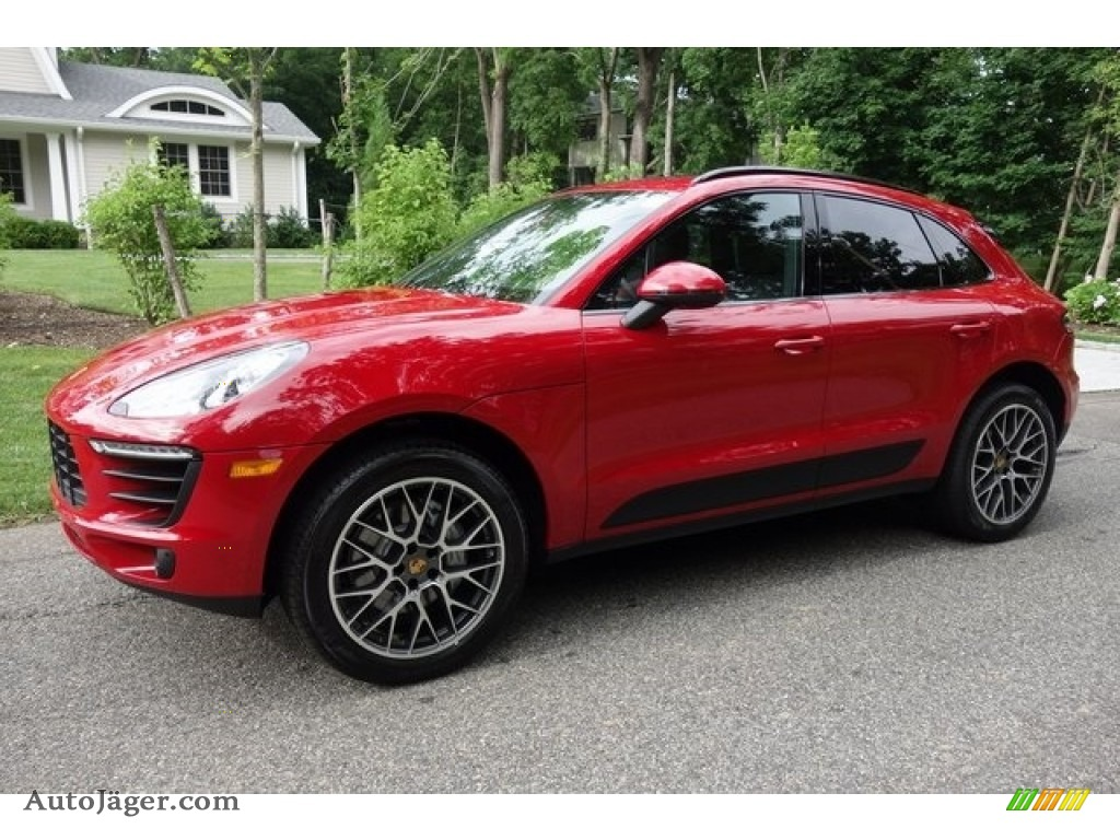2018 Macan S - Carmine Red / Black photo #8