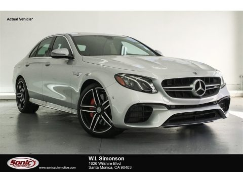 Iridium Silver Metallic 2018 Mercedes-Benz E AMG 63 S 4Matic