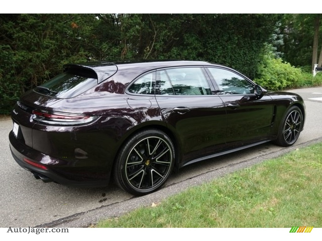2018 Panamera 4 Sport Turismo - Amethyst Metallic / Black/Chalk photo #6