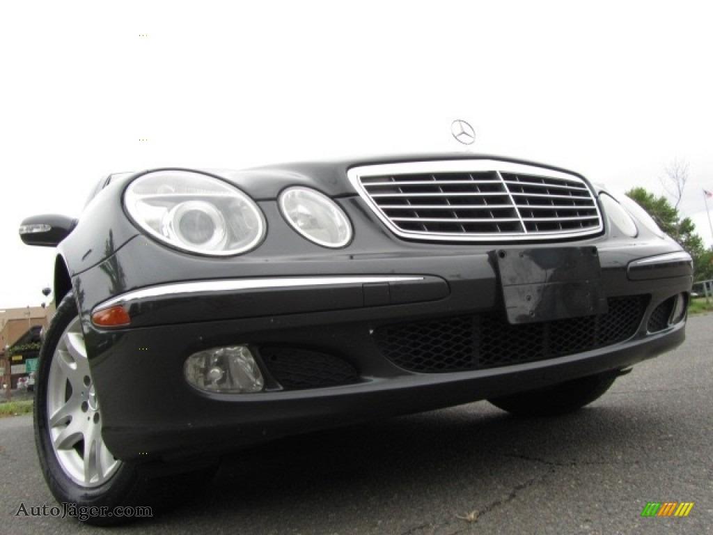 2003 E 320 Sedan - Tectite Grey Metallic / Charcoal photo #1