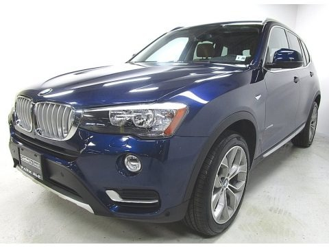 Deep Sea Blue Metallic 2015 BMW X3 xDrive28i