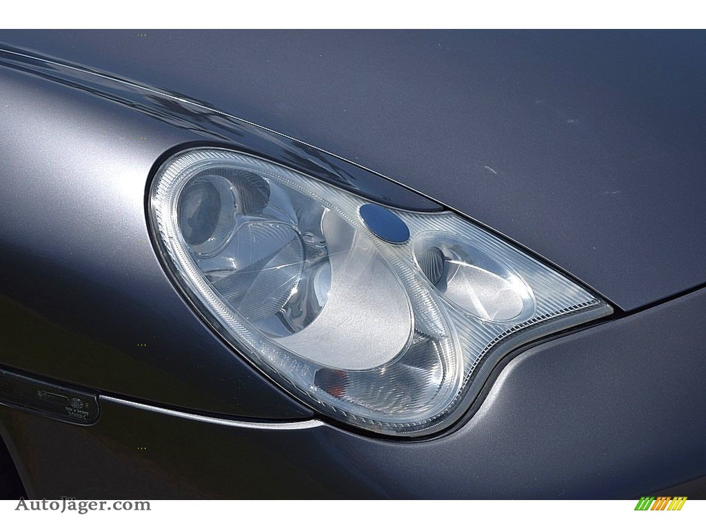 2002 911 Carrera Coupe - Seal Grey Metallic / Graphite Grey photo #17
