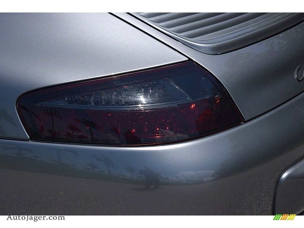 2002 911 Carrera Coupe - Seal Grey Metallic / Graphite Grey photo #19
