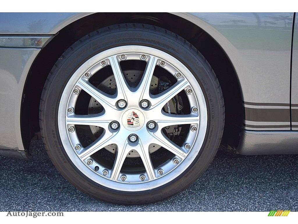 2002 911 Carrera Coupe - Seal Grey Metallic / Graphite Grey photo #23