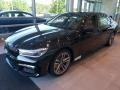 BMW 7 Series 750i xDrive Sedan Black Sapphire Metallic photo #3