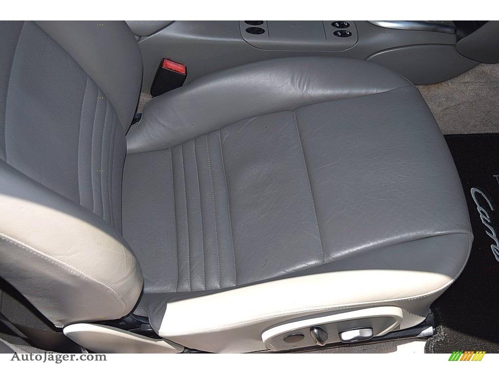 2002 911 Carrera Coupe - Seal Grey Metallic / Graphite Grey photo #46