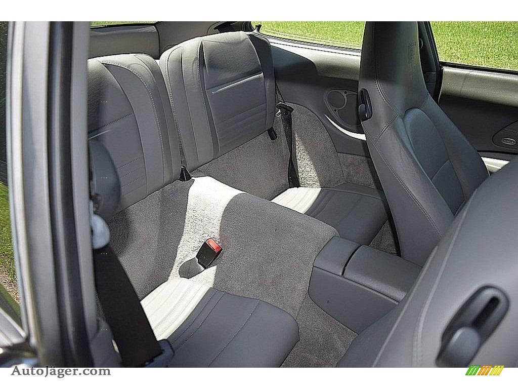 2002 911 Carrera Coupe - Seal Grey Metallic / Graphite Grey photo #47