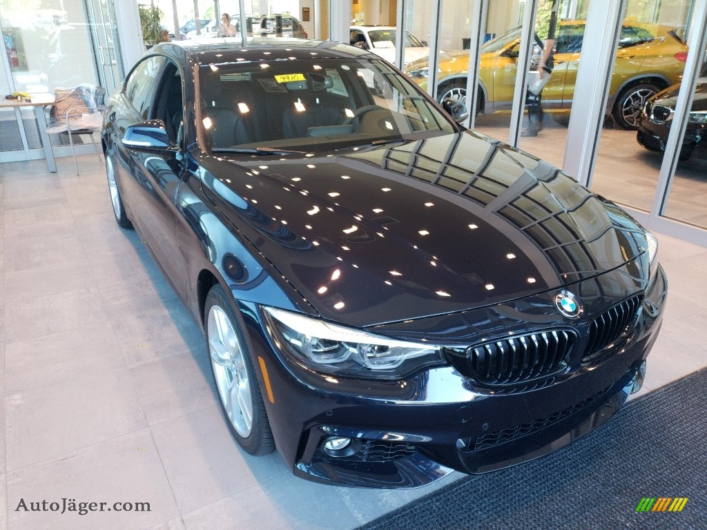 Carbon Black Metallic / Black BMW 4 Series 440i xDrive Gran Coupe
