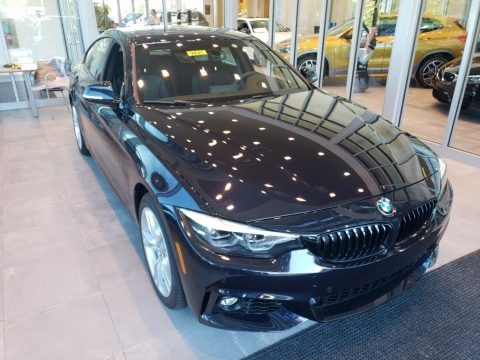 Carbon Black Metallic 2019 BMW 4 Series 440i xDrive Gran Coupe