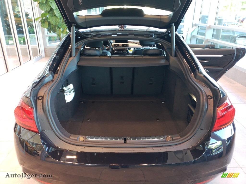 2019 4 Series 440i xDrive Gran Coupe - Carbon Black Metallic / Black photo #8