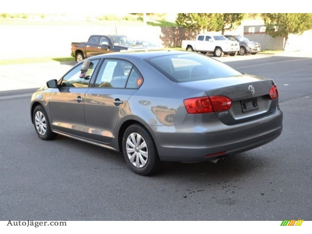 2014 Jetta S Sedan - Platinum Gray Metallic / Titan Black photo #4