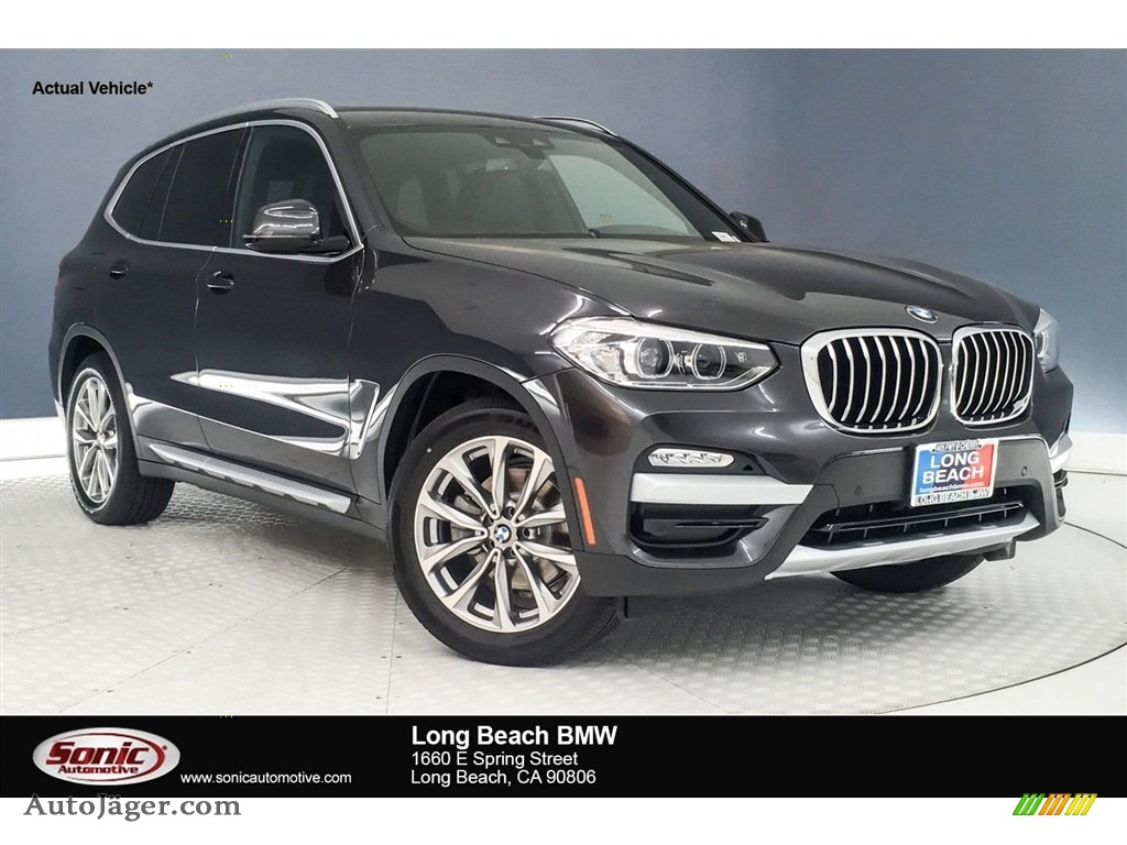 Dark Graphite Metallic / Black BMW X3 sDrive30i