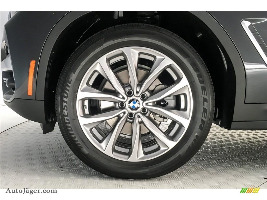 2019 X3 sDrive30i - Dark Graphite Metallic / Black photo #9