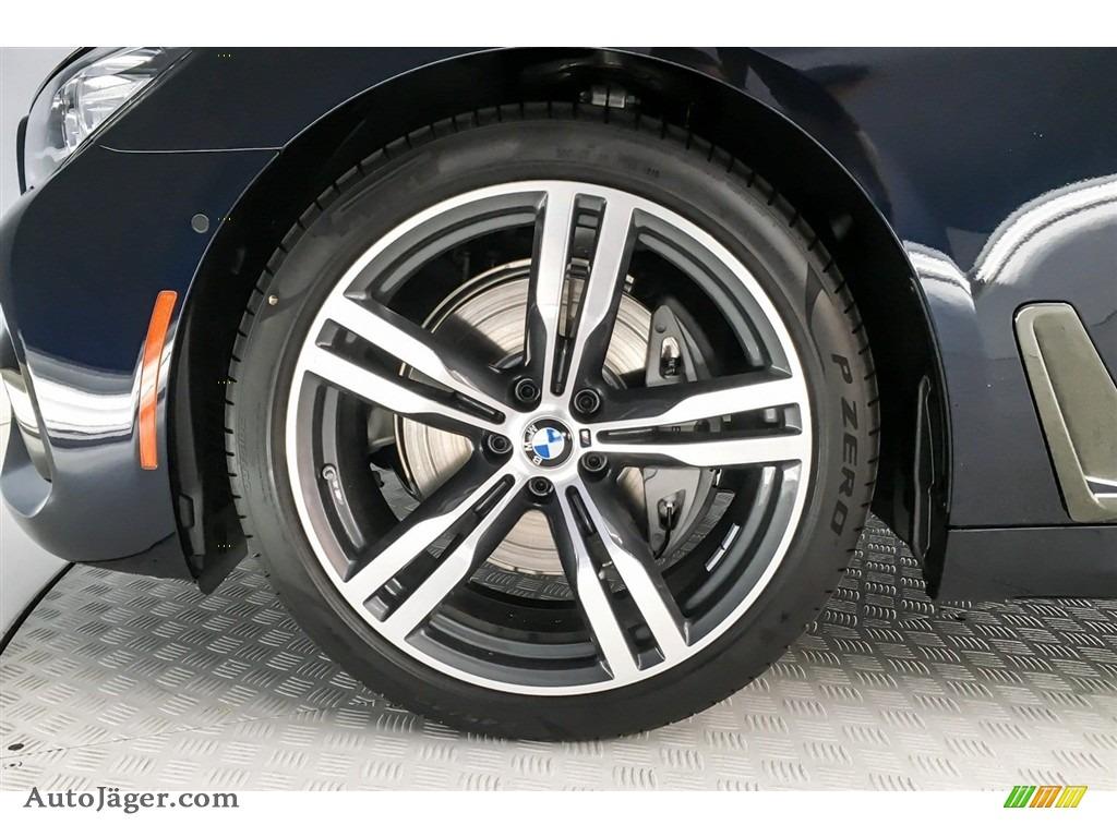 2019 7 Series 740i Sedan - Carbon Black Metallic / Black photo #9