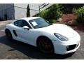Porsche Cayman S White photo #1