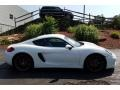 Porsche Cayman S White photo #4