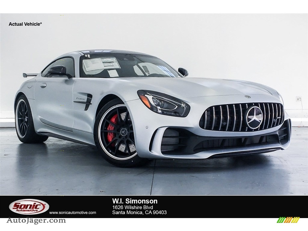 2018 AMG GT R Coupe - designo Iridium Silver Magno (Matte) / Black photo #1