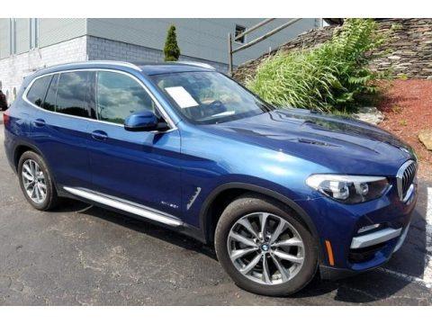 Phytonic Blue Metallic 2018 BMW X3 xDrive30i
