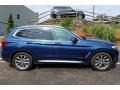 BMW X3 xDrive30i Phytonic Blue Metallic photo #6