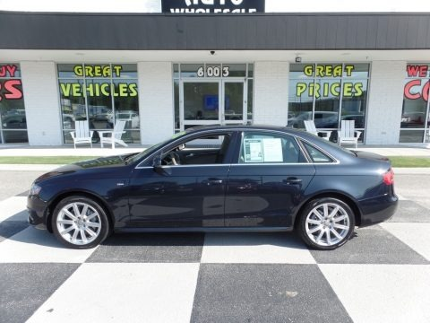 Moonlight Blue Metallic 2012 Audi A4 2.0T quattro Sedan