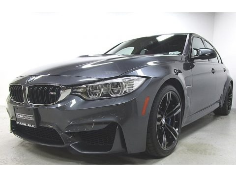 Mineral Grey Metallic 2015 BMW M3 Sedan