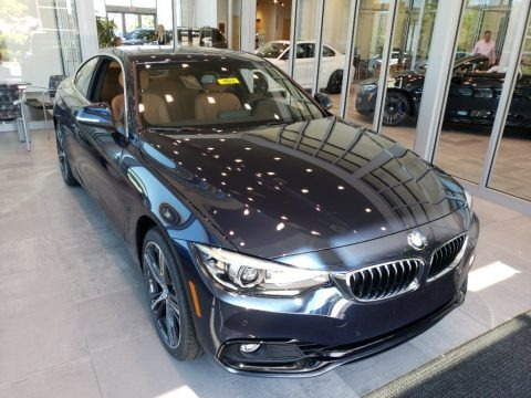 Imperial Blue Metallic 2019 BMW 4 Series 430i xDrive Coupe