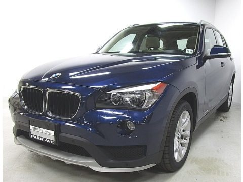 Deep Sea Blue Metallic 2015 BMW X1 xDrive28i