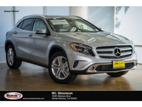 Polar Silver Metallic 2018 Mercedes-Benz GLA 250
