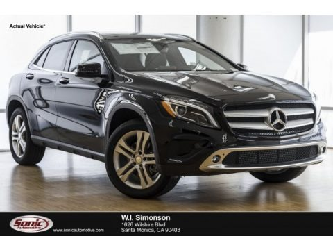 Night Black 2018 Mercedes-Benz GLA 250 4Matic