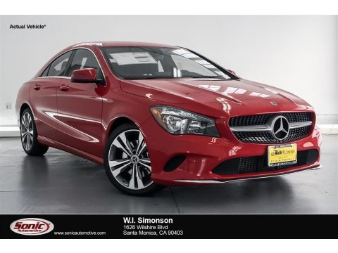 Jupiter Red 2018 Mercedes-Benz CLA 250 Coupe