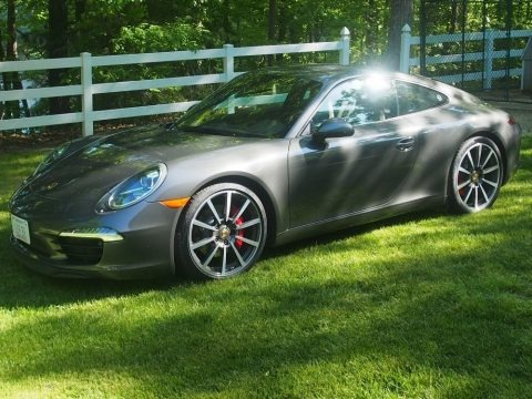 Meteor Grey Metallic 2012 Porsche 911 Carrera S Coupe