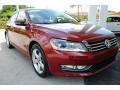 Volkswagen Passat Wolfsburg Edition Sedan Fortana Red Metallic photo #2