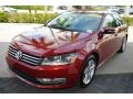 Volkswagen Passat Wolfsburg Edition Sedan Fortana Red Metallic photo #4