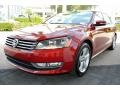 Volkswagen Passat Wolfsburg Edition Sedan Fortana Red Metallic photo #5