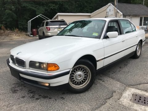 Alpine White III 1998 BMW 7 Series 740iL Sedan