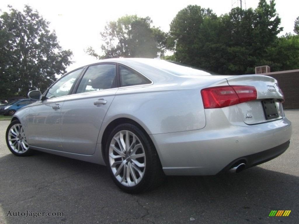 2013 A6 2.0T quattro Sedan - Ice Silver Metallic / Black photo #8