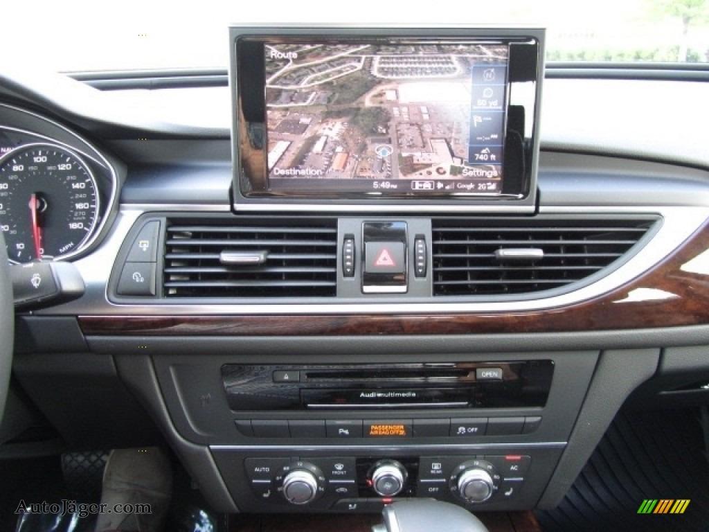 2013 A6 2.0T quattro Sedan - Ice Silver Metallic / Black photo #15