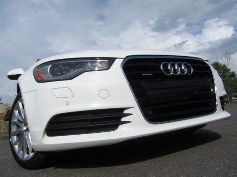 Ibis White 2013 Audi A6 3.0T quattro Sedan