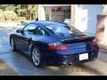 Porsche 911 Turbo Coupe Lapis Blue Metallic photo #3